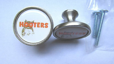 Hooters Cabinet Knobs, Hooters Logo Cabinet Knobs , Hooters Logo Knobs