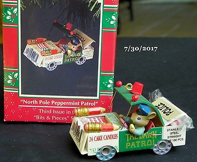 "1992 Enesco Ornament ""North Pole Peppermint Patrol"" 3rd in Bits & Pieces Series"