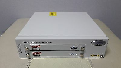Spirent SmartBits SMB-600B Chassis with Original S/W CD & accessories,F/W ver2.8