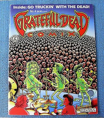1992 GRATEFUL DEAD Comix Issue #4 - 1st version (concert cover - magazine size)