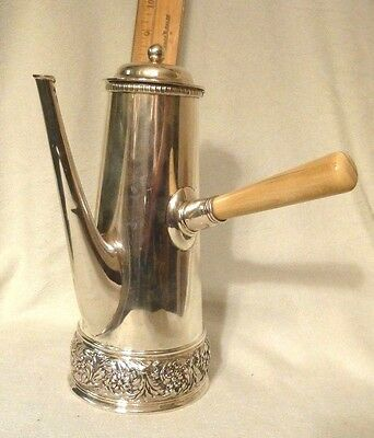 Authentic Tiffany & Co Sterling Silver Chocolate Pot