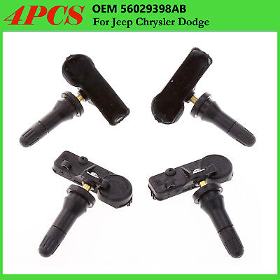 4PCS/Set TPMS Tire Pressure Monitor Sensors 56029398AB fits Jeep Chrysler Dodge