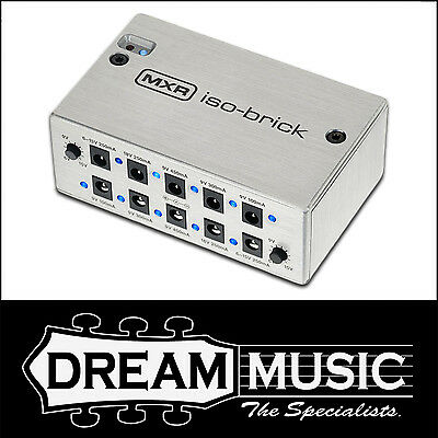 Dunlop MXR - M238 Iso Brick Isolated Regulated Power Supply Iso-Brick RRP$319