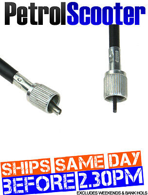 Chinese Scooter Speedo Cable Odometer 49cc 50cc 125cc Square   Fork Screw Fit