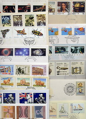 FIRST DAY COVERS with LOTS OF STAMPS  (25) going  very cheaply!!