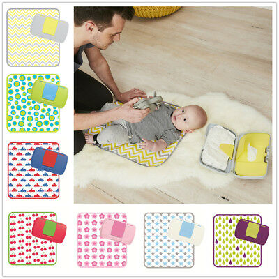 B.BOX Baby Nappy Change Wallet and Change Mat Dispenser