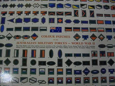 Australian Army Colour Patches Of Ww 11