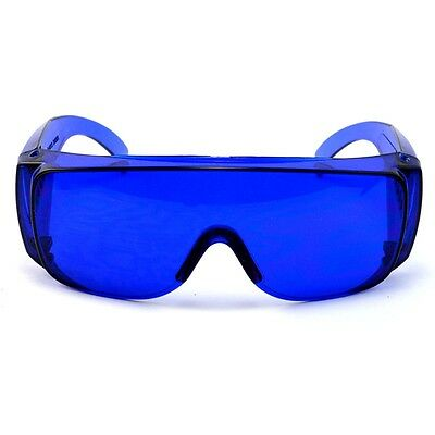 Tinted Golf Ball Finder Glasses with Zippered Carrying Case