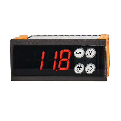 Display Temperature Controller Refrigeration Thermostat Fan Defrost Compressor