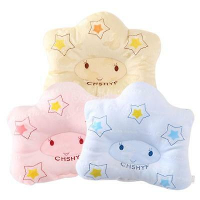 Cute Cotton Baby Soft Pillow Infant Toddler Prevent Flat Head Sleeping Support