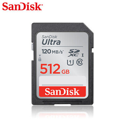 SanDisk 16GB Ultra Class 10 UHS-I SD 80MBs SGHC / SDXC memory card