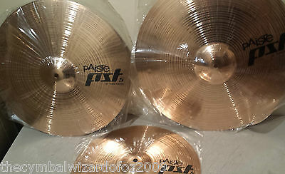 Paiste Pst5 10,16,18 Cymbal Pack