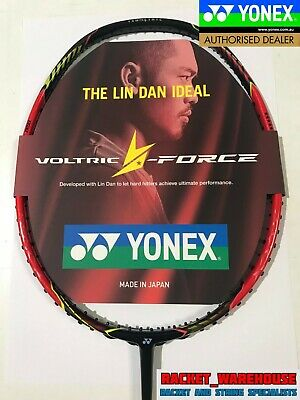 New Yonex Voltric Lin Dan Force Olympic Badminton Racket 4Ug5  Made In Japan