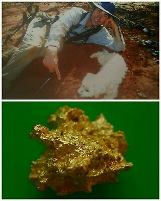 Gold Nugget  2.37 Grams Found By Me In Western Australia