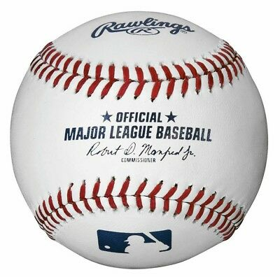 12 Rawlings Official Major League Baseballs 1 Dozen Mlb-Romlb Manfred