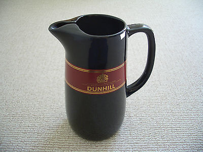 Vintage 1970's Dunhill Cigarettes Ceramic Pub Bar Advertising Whisky Water Jug