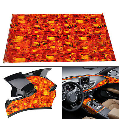 50cm X 100cm Fire Fist Hydrographic Water Transfer Film Hydro Dipping Printing