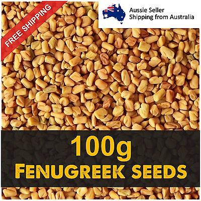 Fenugreek Seeds Methi 100g Health Product  Herbal Tea Fast Free Shipping