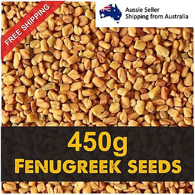 Fenugreek Seeds Methi 450g Health Product  Fast Free Shipping