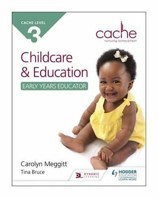CACHE Level 3 Child Care and Education Ea by Carolyn Meggitt Paperback Book New