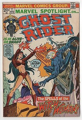 Marvel Spotlight #11 vol.1 / Ghost Rider / Aug 73 / Marvel Comics