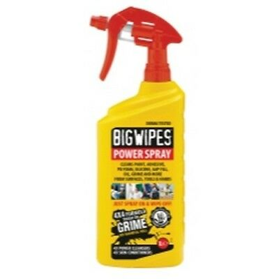 Big Wipes 6002 0009 Power Spray Multi Purpose Cleaner, 32 Oz. Case of 8
