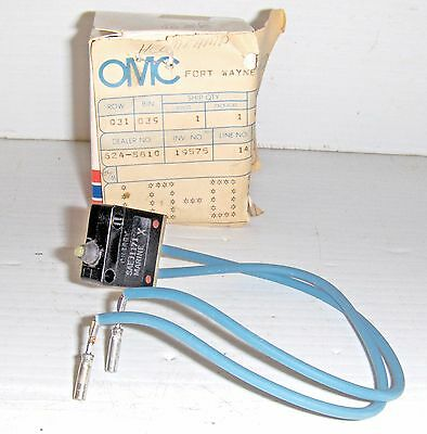 Omc 982886 Switch & Terminal Assembly, Obsolete