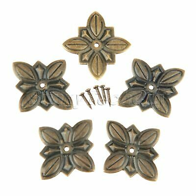 50pcs Antique Upholstery Nails Studs Tacks Pins Furniture Sofa Jewelry Box Decor