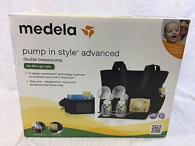 Medela Pump In Style Advanced Double Breastpump - On-the-go-tote (57063) *NEW*