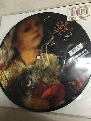 "ALL ABOUT EVE - December - Ltd 1989 UK Picture Disc 7"" # 4518"