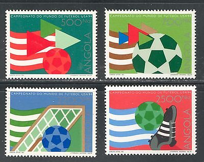WORLD SOCCER CUP - UNITED STATES,ON ANGOLA 1994 Scott 902-905, MNH
