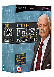 A Touch of Frost: The Complete Series 1-15 DVD Box Set