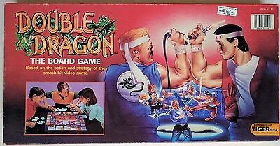 Double Dragon The Board Game Tiger Video Game 3-115 Jimmy Billy Lee 1989