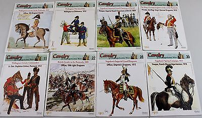 Lot of 8 Osprey Cavalry of the Napoleonic Wars series books • $8.95