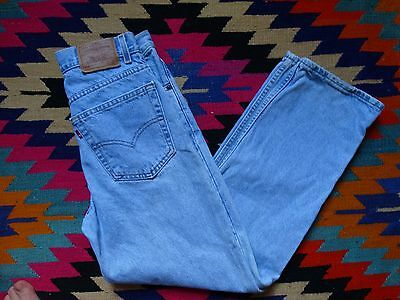 Vintage LEVIS 550 Student Fit Mom Jeans High Waist Tapered Leg 30 x 30 ACT