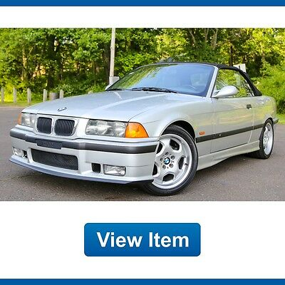 1999 BMW M3 Base Convertible 2-Door 1999 BMW M3 Convertible Auto Super Low 67K mi Serviced Southern Clean CARFAX