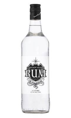 Captain Silver White Rum 1 Litre