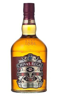 Chivas Regal 12YO Scotch Whisky 1 Litre (Boxed)