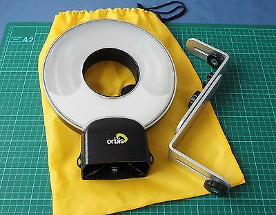 Orbis Ring Flash Diffuser and Orbis-arm 'like new'