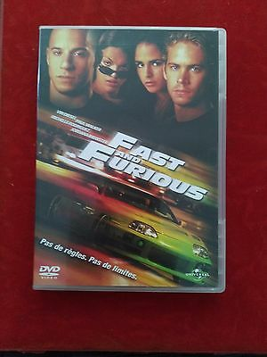 DVD Fast And Furious VIN DIESEL - PAUL WALKER   Occasion