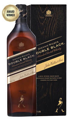 Johnnie Walker Double Black Scotch Whisky 1 Litre (Boxed)