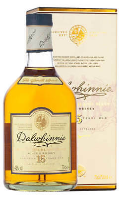 Dalwhinnie 15YO Single Malt Scotch Whisky 700ml (Boxed)