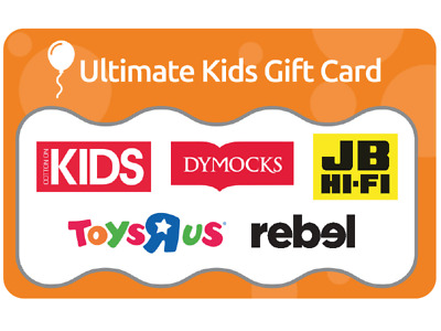 $30 Ultimate Kids Gift Card