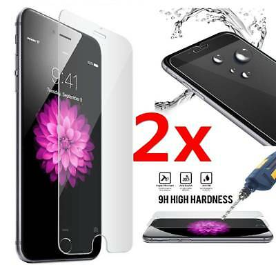 2Pcs Tempered Glass Protective Screen Protector Film for Apple iPhone 7 /7 Plus