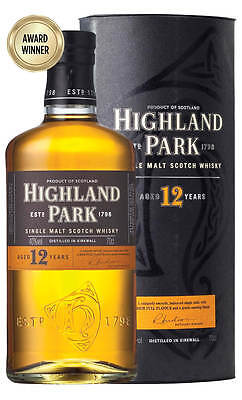 Highland Park 12YO Single Malt Scotch Whisky 700ml (Boxed)