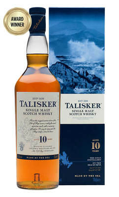 Talisker 10YO Single Malt Scotch Whisky 700ml (Boxed)
