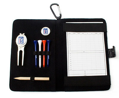 ORIGINAL PGA TOUR SCORECARD HOLDER Mens New Golfer Score Card Gift RP£19.99
