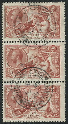 GB Used in Br. Levant Z200 5s Rose-Carmine, ARMY P.O. Constantinople CDS