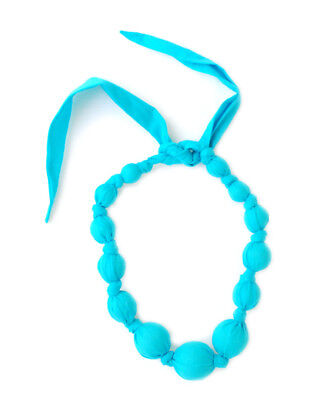 Sophie Catalou Co. Girls Sophie Catalou Girls' Turquoise Wooden Bead Necklace,