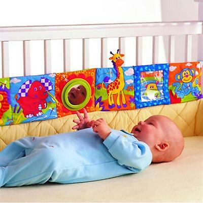 Kids Animal Cloth Book Infants Baby Intelligence Development Toys Bed Cognize YT